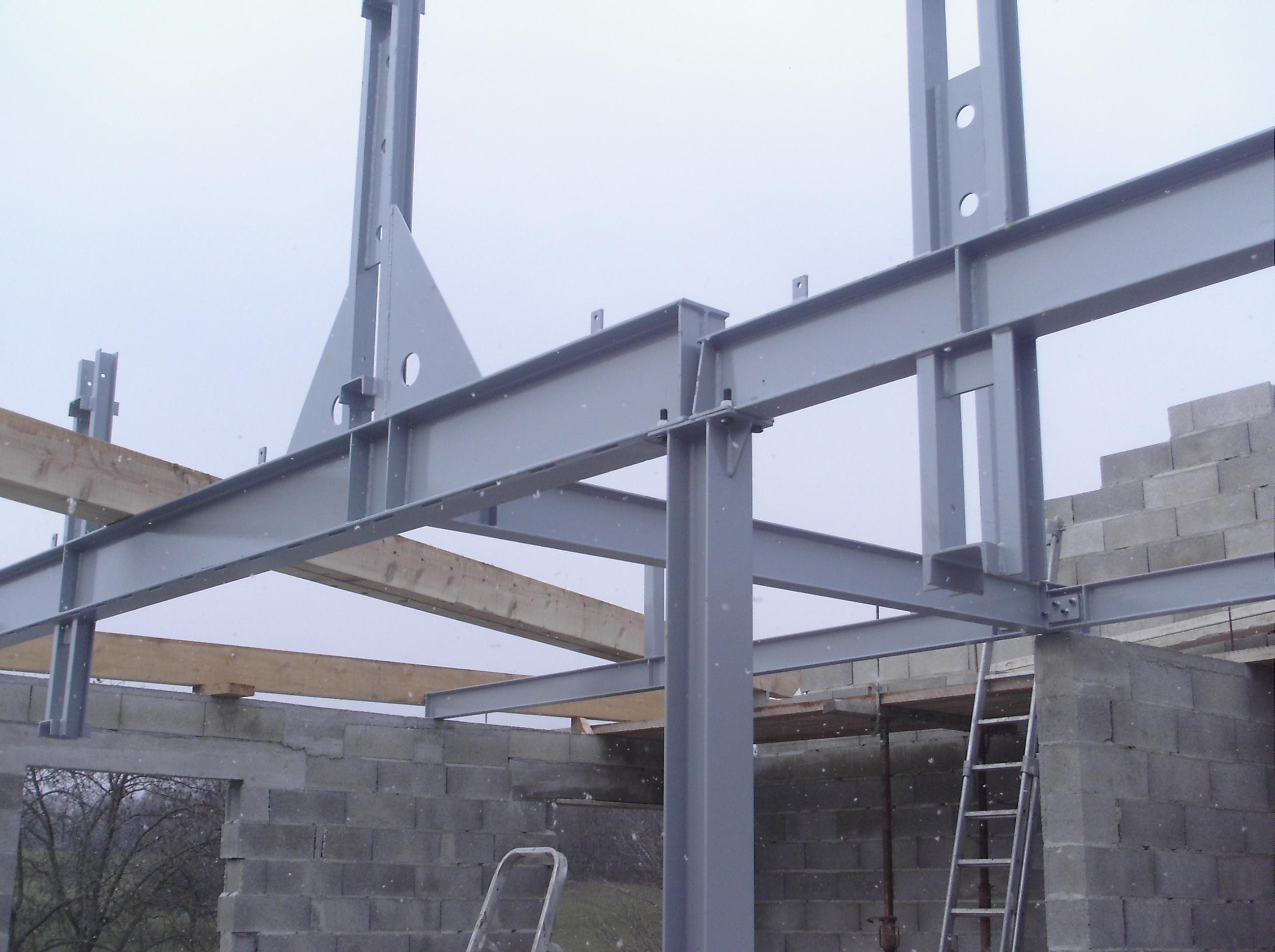 Allsteel site officiel Maison en structure metallique